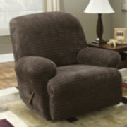 SURE FIT® Royal Diamond Stretch Recliner Slipcover