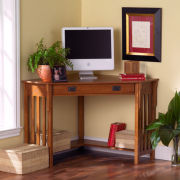 Mission Corner Computer Desk