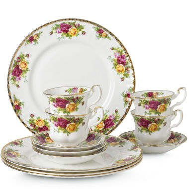 jcpenney.com | Royal Albert® Old Country Roses 12-pc. Dinnerware Set