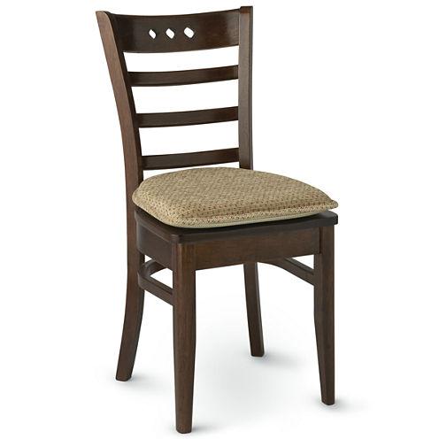 """Klear Vu Raindrops Gripper® 2-Pack 2"""" Chair Cushions"""