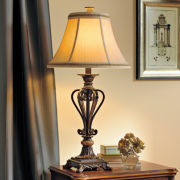Marble Cage Table Lamp