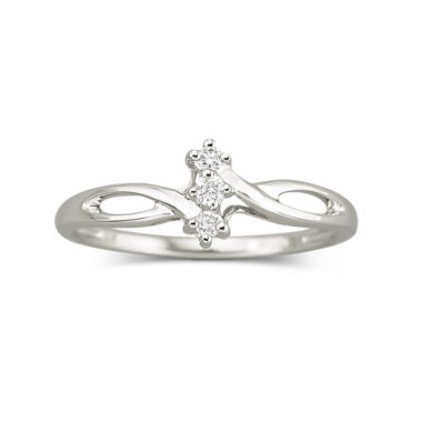 jcpenney.com | Diamond-Accent Promise Ring Sterling Silver
