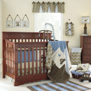 Rockland Hartford Convertible Crib - Cherry