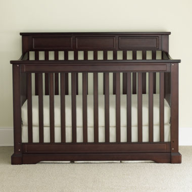 jcpenney.com | Rockland Hartford Flat-Top Crib - Coffee