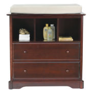 Rockland Changing Table - Cherry