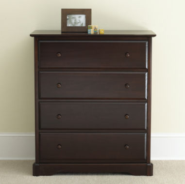jcpenney.com | Rockland Hartford 4-Drawer Chest - Coffee