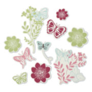 NoJo®  Alexis Garden Wall Stickers