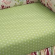 NoJo® Alexis Garden Crib Sheet