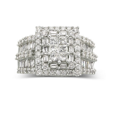 jcpenney.com | 3 CT. T.W. Diamond Engagement Ring 14K White Gold