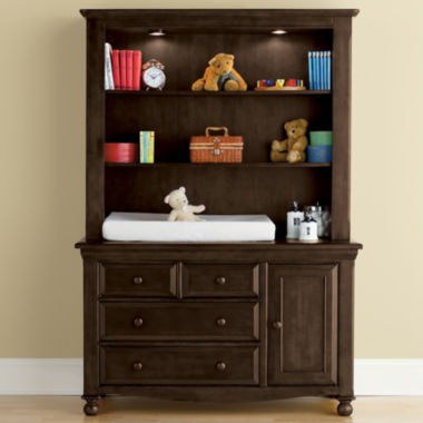 jcpenney.com | Bedford Baby Monterey Changing Table or Hutch - Chocolate Mist