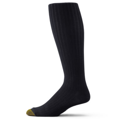 jcpenney.com | Gold Toe® 3-pk.  Dress Canterbury Over-the-Calf Socks