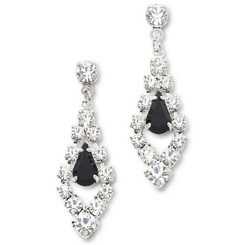Vieste® Rhinestone Drop Earrings