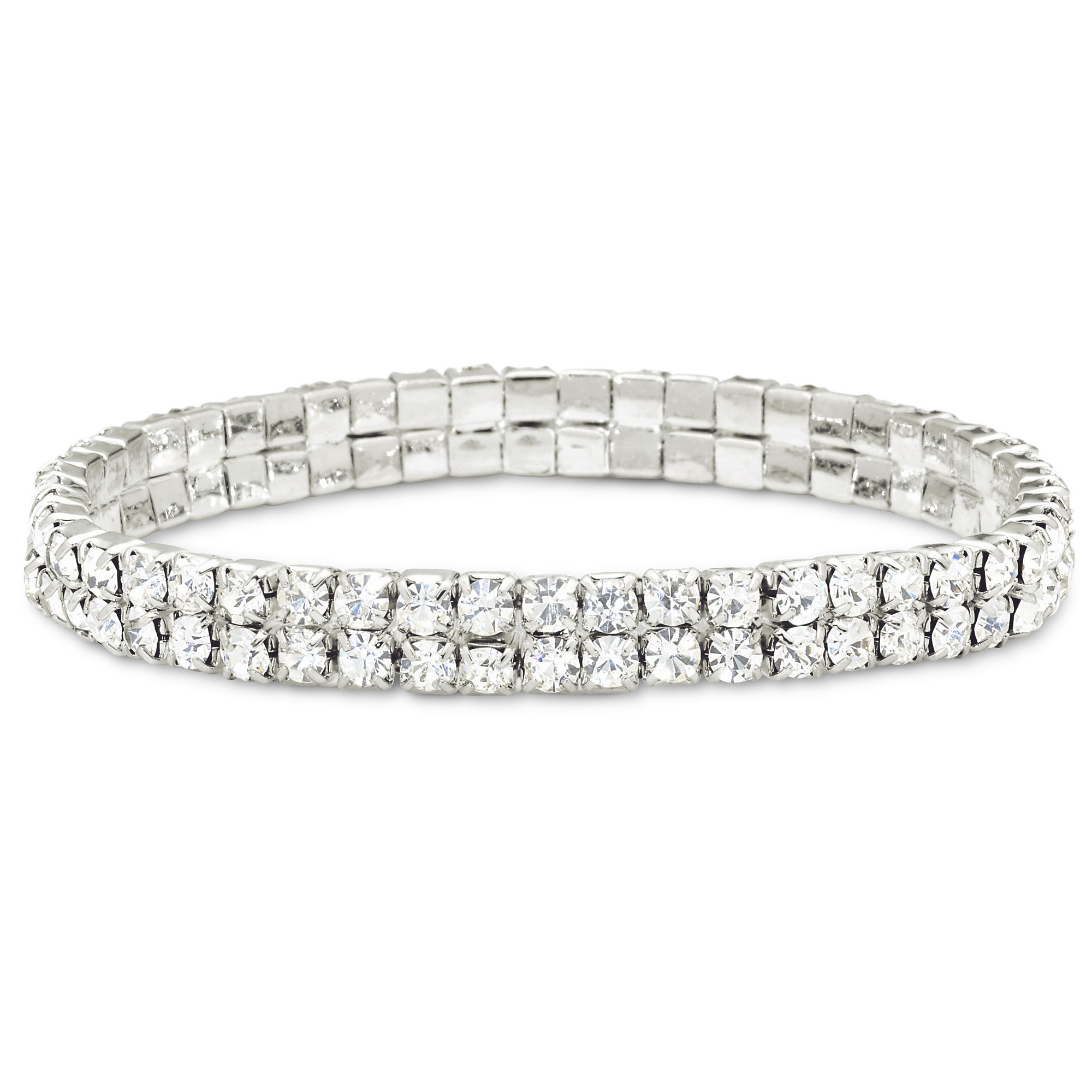 Vieste Crystal Stretch Bracelet