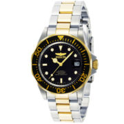 Invicta® Pro Diver Mens Two-Tone Automatic Watch