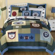 jcp home™ Sports Match Quilt & Accessories