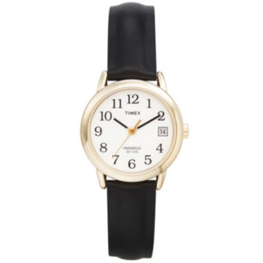 jcpenney.com | Timex® Easy Reader Womens Black Strap Watch 2H341