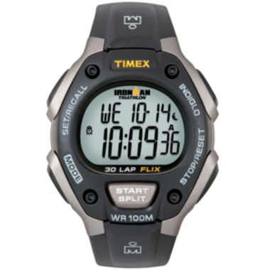 jcpenney.com | Timex® Ironman Mens Black Digital Chronograph Watch 5E901