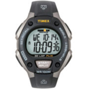 Timex® Men's Ironman® Black Digital Chronograph Watch