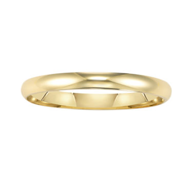 jcpenney.com |  Wedding Band, Womens 2mm 14K Gold