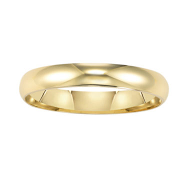 jcpenney.com |  Womens 14K Gold 3mm Wedding Band