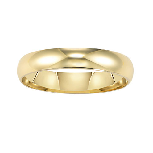Men's 14K Gold 4mm Wedding Band