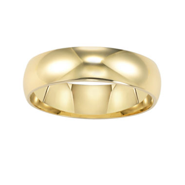 jcpenney.com |  Wedding Band, Women's 6mm 14K Gold