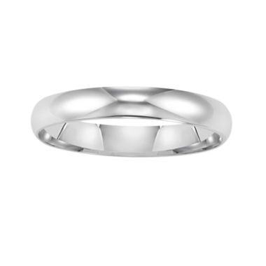 jcpenney.com |  Womens 14K White Gold 3mm Wedding Band
