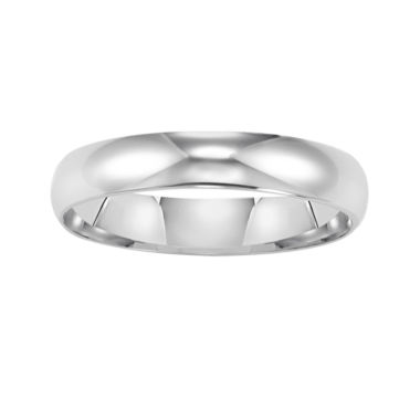 jcpenney.com |  Mens 14K White Gold 4mm Wedding Band