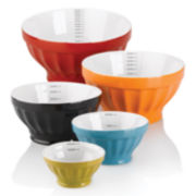 Cooks 5-pc. Ceramic Mixing Bowl Set