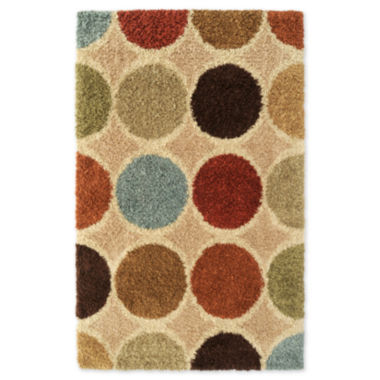 jcpenney.com | Concepts Circle Shag Rectangular Rug