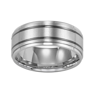 jcpenney.com |  Stainless Steel Ring, Mens 9mm Band