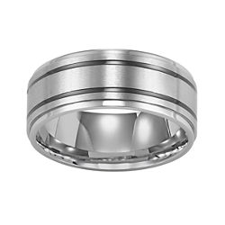 BEST VALUE! Stainless Steel Ring, Mens 9mm Band