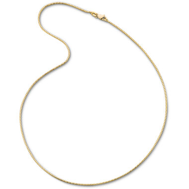 "jcpenney.com | 14K Yellow Gold 18"" 1.15mm Semi-Solid Fancy Snake Necklace"