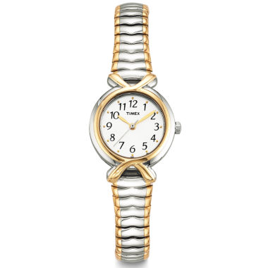 jcpenney.com | Timex® Easy Reader Womens Expansion Strap Watch 218543D