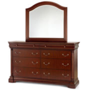 Grand Marquis II 8-Drawer Dresser or Mirror