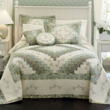 jcpenney.com | Home Expressions™ Cassandra Pieced Bedspread & Accessories