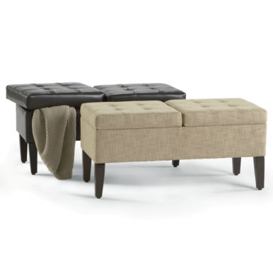 jcpenney.com | 2-Compartment Storage Bench