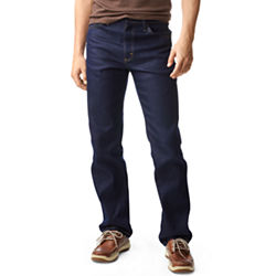 Lee Regular-Fit Straight-Leg Stretch Mens Jeans