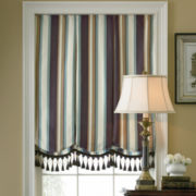 jcp home™ Custom Milan Print/Damask Roman Shade - Sizes