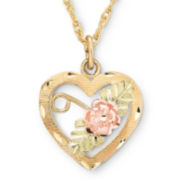 Black Hills Gold®, Heart Pendant Necklace