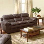 Princeton Leather Sofa Group