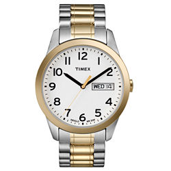 Timex® Men's Two-Tone Expansion Band Watch
