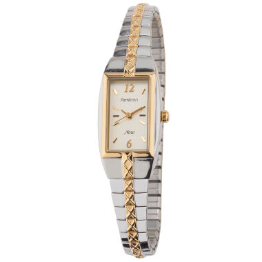 jcpenney.com | Armitron® Womens Rectangle Expansion Band Watch
