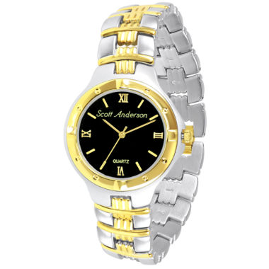jcpenney.com | Mens Two-Tone Personalized Watch