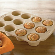 Haeger® Naturalstone 12-Cup Muffin Pan