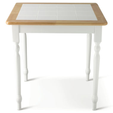 "jcpenney.com | Willow 29"" Square Dining Table with Tile Top"
