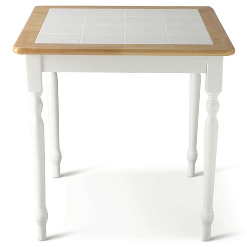 "Willow 29"" Square Dining Table with Tile Top"