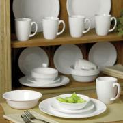 Corelle® Livingware™ Winter Frost White 30-pc. Dinnerware Set