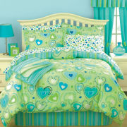 jcp home™ Sprinkle Complete Bedding Set with Sheets & BONUS Throw