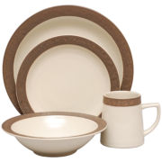 Sango Rustic Cream 16-pc. Dinnerware Set